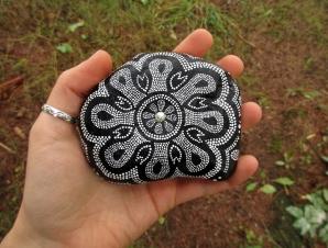 schwarz weißes Mandala1