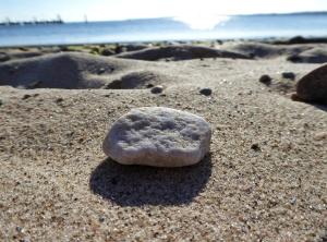 Steine sammeln
