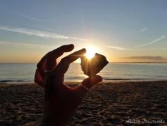 Stein in Sonne